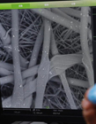 显微镜下的雾霾 雾霾显微镜下照片 雾霾颗粒放大