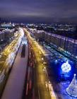 莫斯科夜景图片 俄罗斯莫斯科夜景
