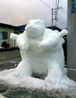 奇特雪人 国外雪人