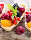 简单又漂亮的水果拼盘