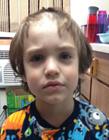 孩子剪自己的头发