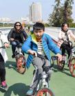 厦门空中自行车道 空中自行车道图片