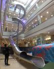 商场大滑梯 高空滑梯 螺旋滑梯