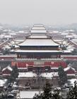 春雪图片 北京下雪2017