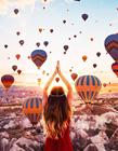 土耳其热气球图片高清 土耳其的热气球图片