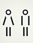 厕所图标设计 公共厕所图标