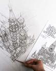 建筑外观设计草图 建筑外观设计效果图