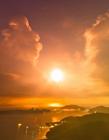 日落夕阳红满天