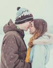 雪地情侣浪漫图片大全 情侣图片大全
