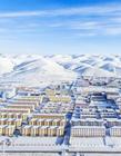 青海雪景图片 青海玛多冬天
