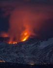 意大利火山爆发 意大利埃特纳火山