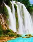 自然山水瀑布图片大全