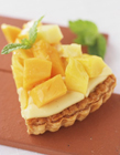 芒果水果蛋糕图片 芒果造型蛋糕图片大全