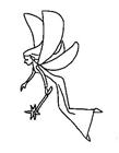 最可爱的简笔画小精灵 会飞的小精灵简笔画