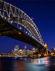 悉尼最美夜景 悉尼夜景图片