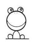 青蛙简笔画 小青蛙怎么画简笔画