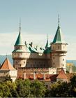 欧洲中世纪古堡 古堡建筑图片