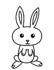 小白兔简笔画图片大全