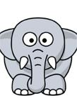大象简笔画图片大全 大象简笔画步骤