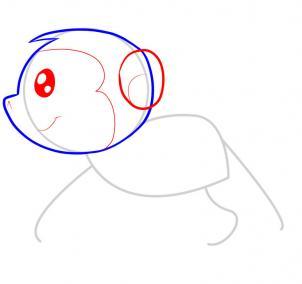 猴子简笔画图片大全 猴子怎么画简笔画