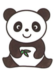 熊猫简笔画图片大全 熊猫怎么画简笔画