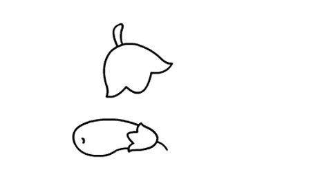 茄子简笔画图片大全 茄子怎么画简笔画
