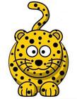 豹子简笔画图片大全 豹子简笔画步骤
