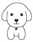 小狗简笔画图片大全 小狗怎么画一步一步教