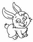 卡通兔子简笔画图片大全
