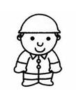 工人简笔画图片 怎样画工人