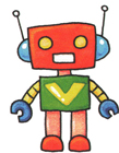 简单机器人图片简笔画