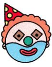 小丑简笔画图片