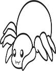 蜘蛛怎么画一步一步教