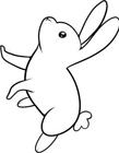 兔子简笔画的画法
