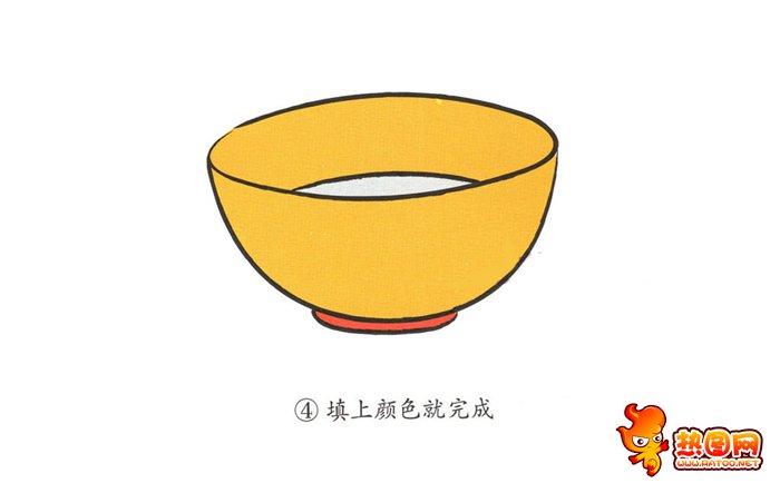 碗的简笔画图片
