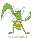 螳螂简笔画图片