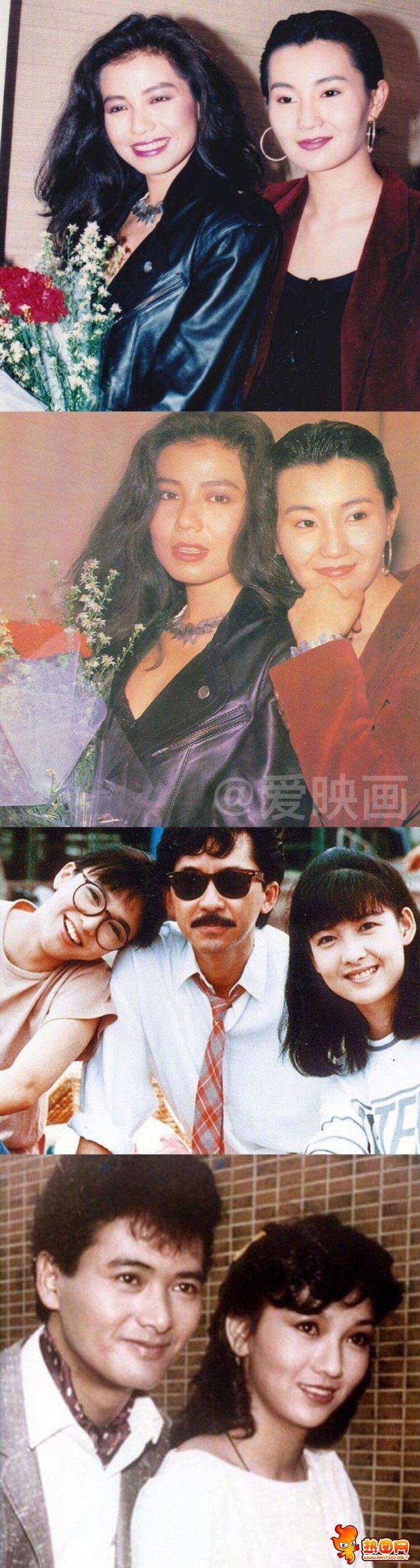 香港明星年轻时的照片