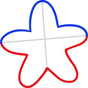 海星简笔画图片