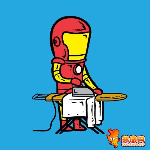 超级图片兼职工作打工英雄-创意漫画-热图网拍漫画秒暴走图片