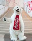 可口可乐北极熊gif 可口可乐吉祥物官方gif