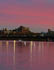 美国查尔斯河夜景图片