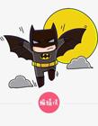 蝙蝠侠简笔画步骤 蝙蝠侠怎么画简笔画