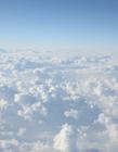 高空中的云层风景图片 唯美云层图片