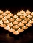 浪漫蜡烛摆法 爱心蜡烛怎么摆教程