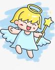可爱的小天使简笔画
