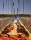 中国首座3D玻璃桥