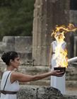 平昌冬奥会圣火采集仪式在希腊举行