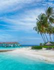 马尔代夫海边风景图片