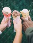 好吃的冰淇淋图片