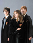 哈利波特三人组图片 哈利波特三人组高清照